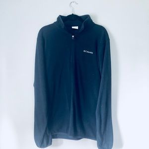 Men's Columbia Black Quarter Zip